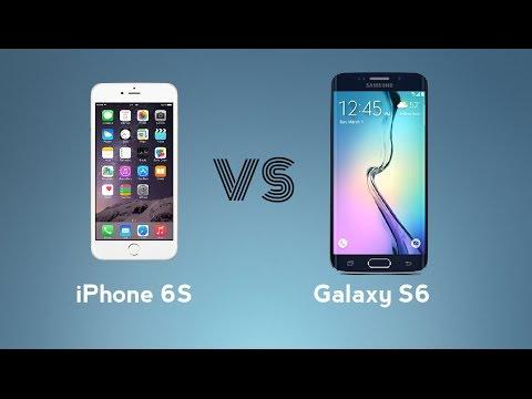 iPhone 6s vs Samsung Galaxy S6