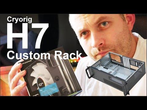 Custom Case Cryorig H7 prep for Ryzen gen 2 Workstation Rack 2018