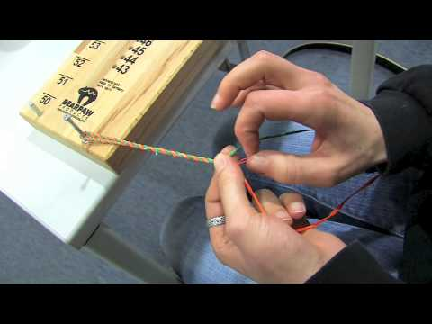 Archery Basics 15 - how to make your own bow string - english