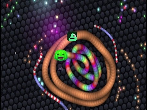 I TRAPPED JELLY! - Slither.io