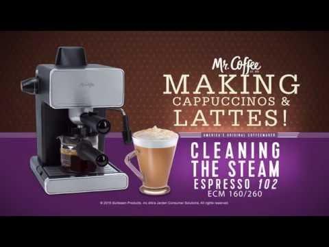 Mr Coffee Espresso Machines Cleaning Your Espresso Maker