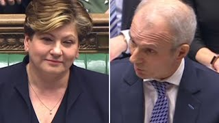 Emily Thornberry at PMQs: one Emily elected since 1918, but 155 Davids