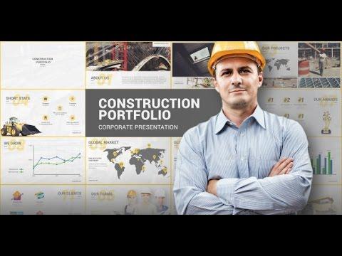 Construction Portfolio Presentation
