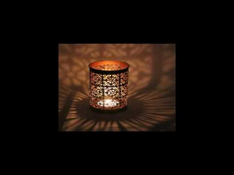 Stool sharp table and room decoration metal candle holder CH 31767 16