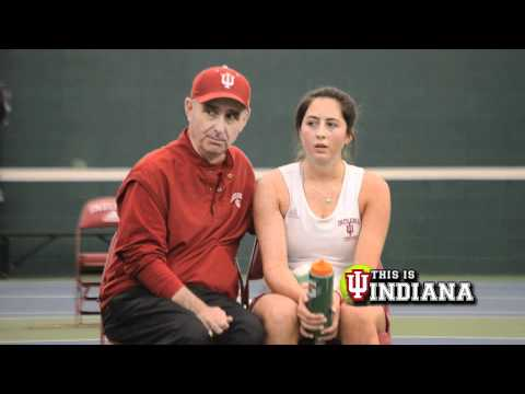 Up Close and Personal with Indiana Women's Tennis Player Carolyn Chupa