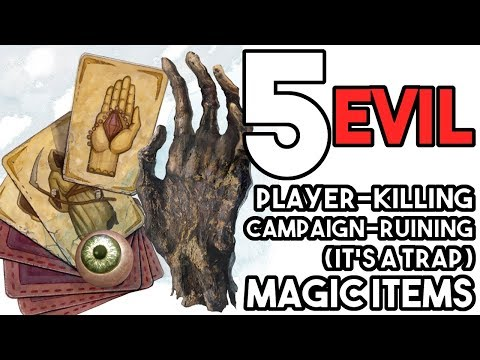5 EVIL Magic Items
