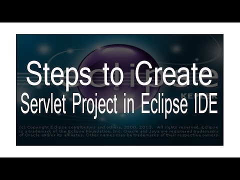 how to create servlet in Eclipse