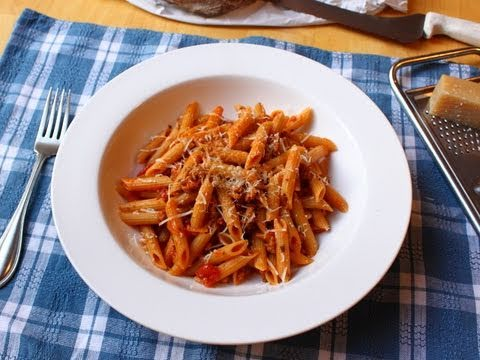 Food Wishes Recipes - Spicy Sausage Ragu Pasta Sauce - Penne Pasta with Sausage Ragu Recipe