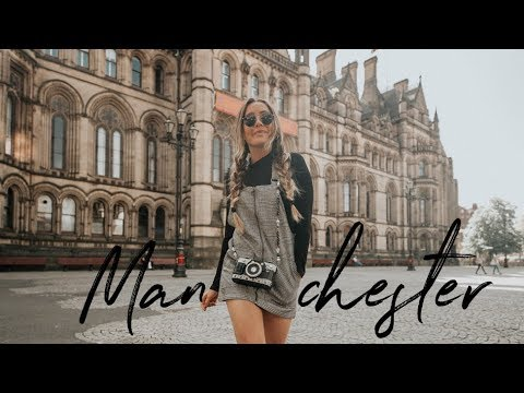 TRAVEL VLOG: Manchester! + What I Ate (Vegan) While Traveling!