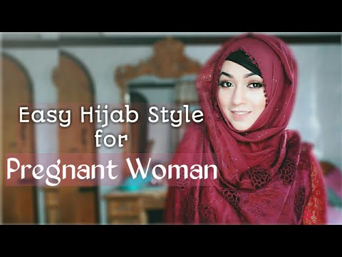 EASY EVERYDAY HIJAB LOOK for Pregnant WOMAN ft STYLINE COLLECTION | Pari ZaaD ❤