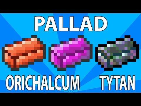 Poradnik Terraria 1.2 - Palladium, Orichalcum, Titanium