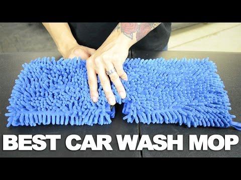 Microfiber Chenille Car Wash Mop