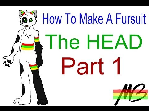 How To Make a Fursuit Tutorial-The Head (Part 1)
