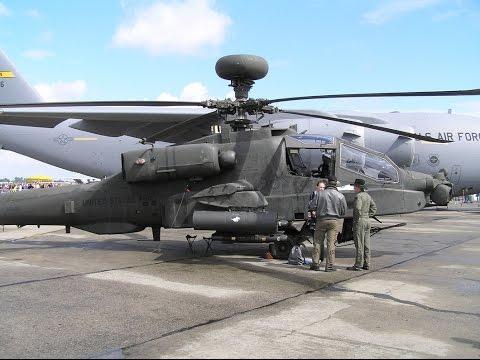ILA 2016 -  Boeing AH-64D Apache Airshow |1080P