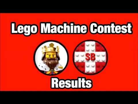 Lego Machine Contest Results