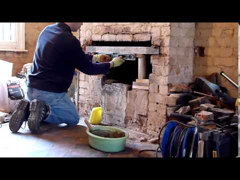 Fireplace reconstruction