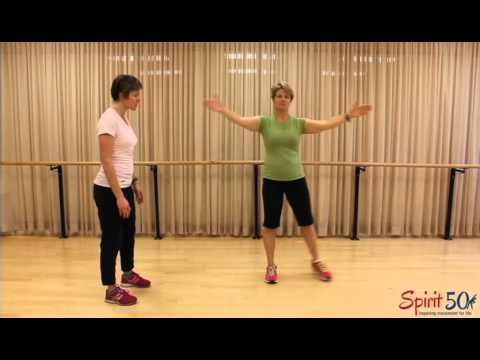 Cardiovascular exercise- low impact (jacks)
