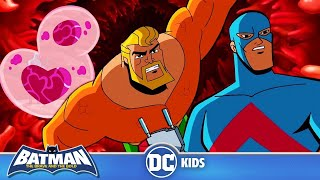 Batman the Brave and the Bold | Journey Into The Center of Batman | DC Kids