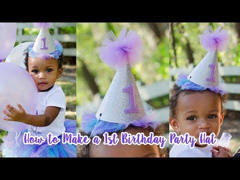 DIY Birthday Party Hat | Simply Dovie