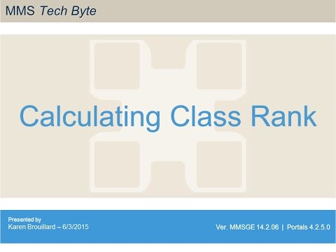How To Calculate Class Rank