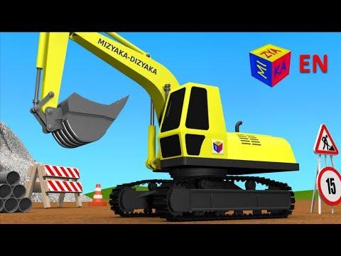 Xxx Mp4 Trucks For Children Kids Construction Game Crawler Excavator 3gp Sex
