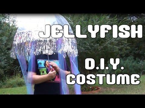 DIY JELLYFISH COSTUME TUTORIAL-- 13 Days of Halloween 2014 --Day 8