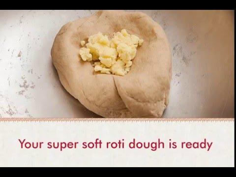 The secret to super-soft rotis!