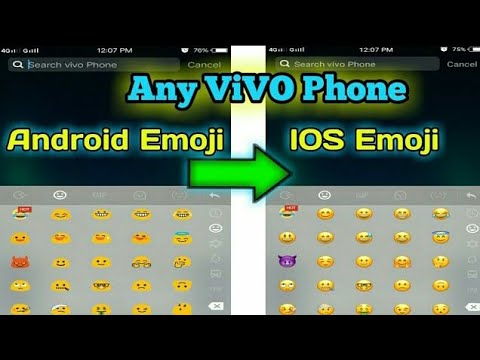 Android Emoji To Ios Emoji On Vivo Phones