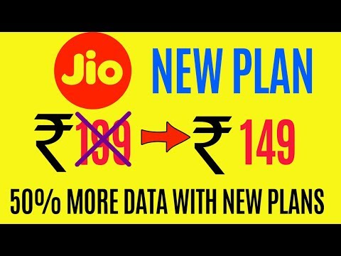 Jio New tarrif Plans 2018 | 50% more data and Rs.50 Discount On Happy new year (HINDI)