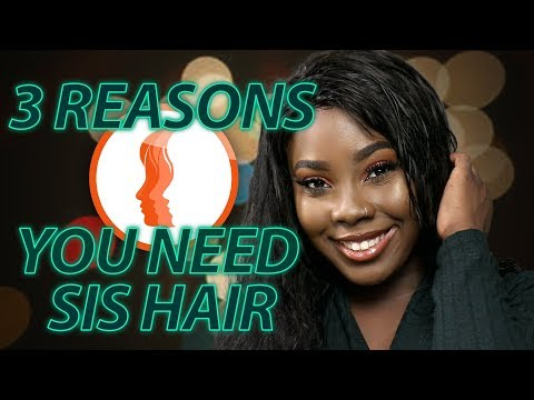 Sis Hair Review + How to Bleach Knots & Sew On A Wig