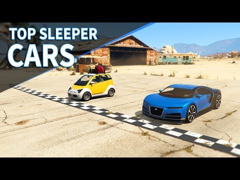 GTA V - Top 3 Sleeper cars