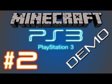 Minecraft PS3 Demo || Hidden Nether Portal || (Part 2)