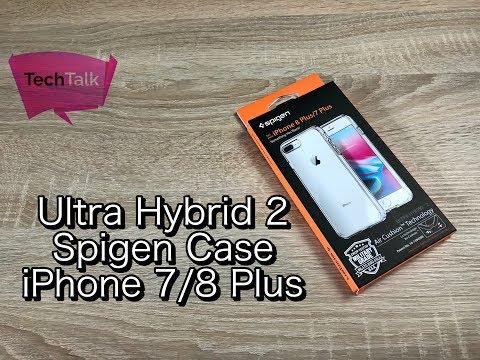 Spigen Ultra Hybrid 2 iPhone 7/8 Plus Case Unboxing