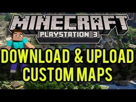 CUSTOM MAP MINECRAFT PS3 ITA | DOWNLOAD e SPIEGAZIONE [SPECIALE 150]