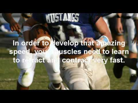 Fast Twitch Muscles - Football Athletic Quickness