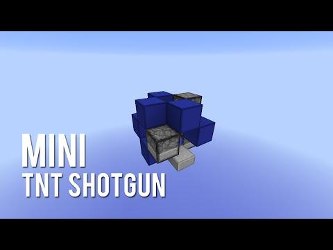 Redstone: Mini TNT Shotgun [Tutorial]