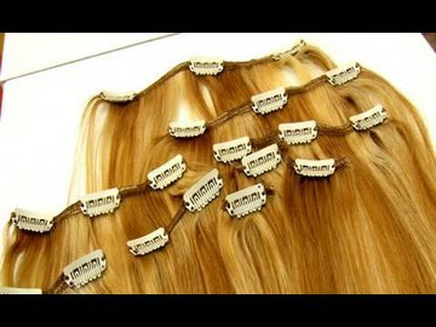 How To:Apply Clips to Hair Extensions