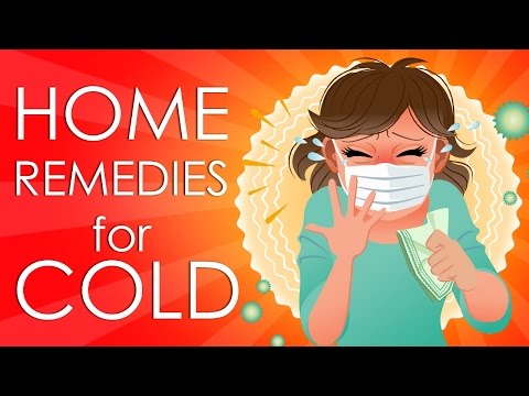Treat Common Cold or Flu - Simple Home Remedies & Tricks