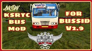 BUSSID V2 9  KSRTC MOD FOR BUS SIMULATOR INDONESIA Kerala S