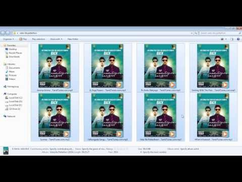 Add cover images to your MP3 files(tamil)