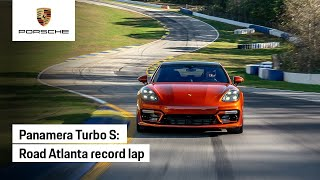 Porsche Panamera Turbo S: Road Atlanta Record Lap