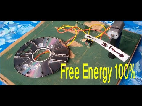 cool idea,free energy  100% , how to make solar cell from CD flat use diode