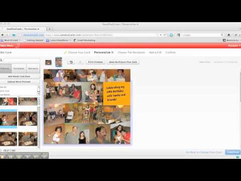 HOW TO CREATE A COLLAGE GREETING CARD