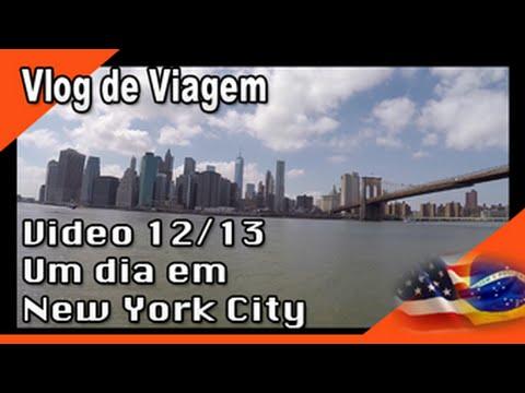 Mudança para os EUA 12/13 - Um dia em New York, Time Square, Brooklyn e Central Park