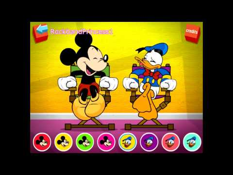 Disney's Mickey Mouse and Donald Duck Funny Farting Game