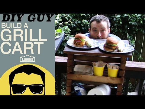 Easy Build Grill Cart