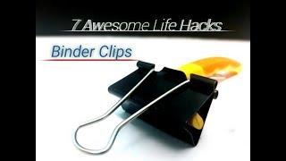 7 Ide Kreatif Dengan Binder Clips