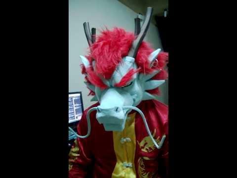 Chinese dragon head.