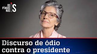 Atriz defende que Bolsonaro leve uma surra