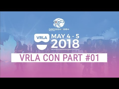 VRLA 01 - Preperation - Virtual Reality - Animation - Gadget-Bot